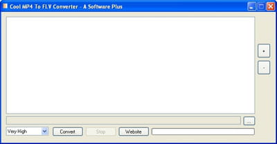 Download the latest version of MP4 To FLV Converter free in English