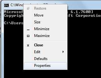 how to open command prompt css
