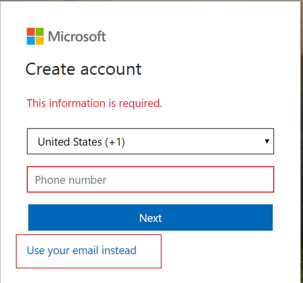 create hotmail account get a free email address
