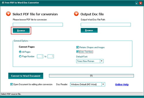 convert pages to pdf