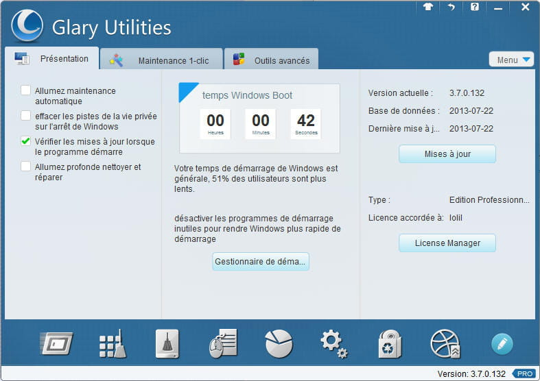 A free alternative to TuneUp utilities