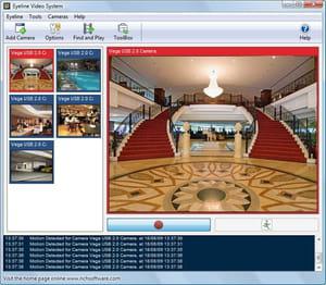 webcam surveillance software free