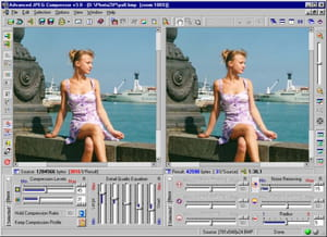 Download the latest version of JPEG Compressor free in English on CCM