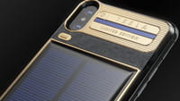 Solar Powered iPhone X Tesla Unveiled