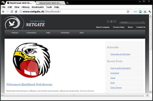 Download the latest version of BlackHawk Web Browser free in