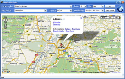Download the latest version of Google Maps Saver free in English on CCM