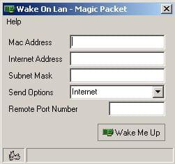 Shutdown or Wake Up a PC on a LAN