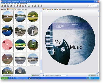 publisher dvd cover template - download the latest version of accoustica cd dvd label