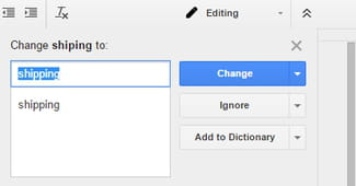 How To Enable The Google Docs Spell Checker