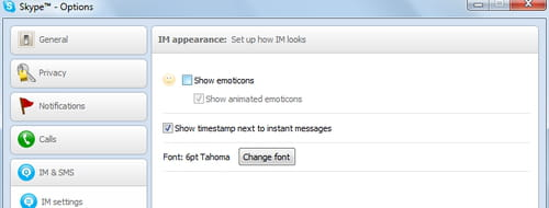 Skype - Disable animated emoticon