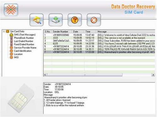 Download the latest version of Sim Card Data Recovery free