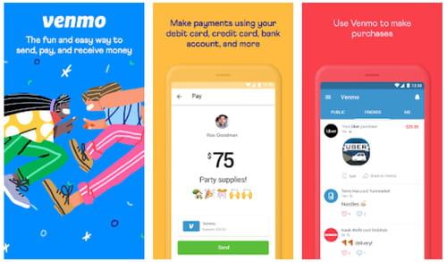 Venmo Mobile cash Wallet Send & Receive Money online