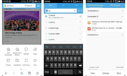 Download the latest version of UC Browser for Android free