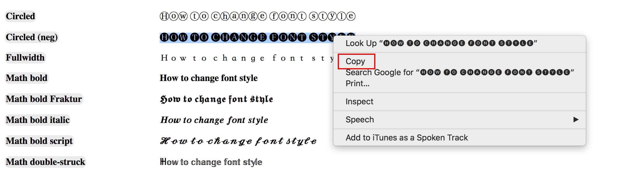 How To Change the Font in Your Facebook, YouTube, and