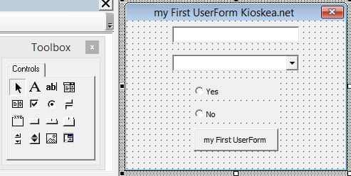 Excel VBA: Simple UserForm example