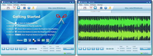 Download the latest version of MP3 Cutter free in English