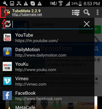 download the latest version of tubemate youtube downloader for android free in english on ccm. Black Bedroom Furniture Sets. Home Design Ideas