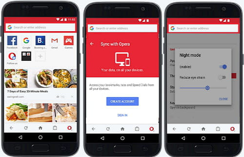 Download the latest version of Opera Mini free in English on CCM