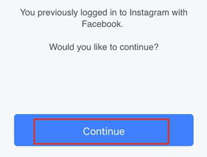 Facebook Recovery for Instagram