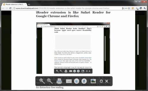 iReader for Google Chrome