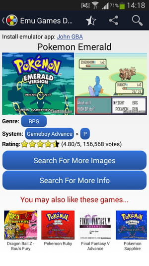 Download the latest version of Emulator Games Database free