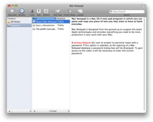 Download the latest version of Mac Notepad free in English on CCM