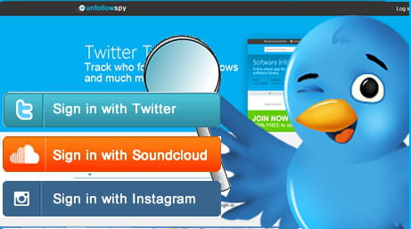 UnFollowSpy - Manage your followers on Twitter, SoundCloud