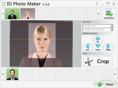 Download the latest version of ID Photo Maker free in English on CCM