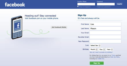 How to create an account on facebook how to set up a facebook account stopboris Image collections