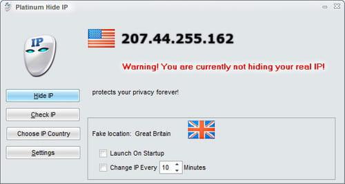 free program to hide your ip address