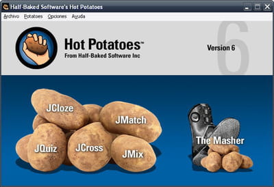 Download the latest version of Hot Potatoes free in English on CCM