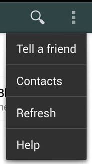 Refresh Your Contact List On Whatsapp