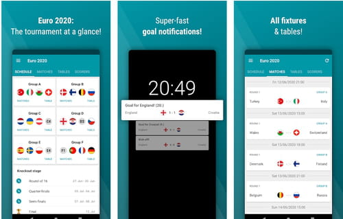 Download The Latest Version Of Euro Football App 2020 Free In English On Ccm Ccm