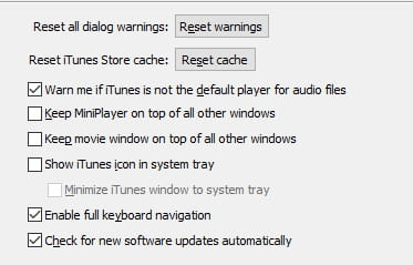 How To Clear the iTunes Store Cache