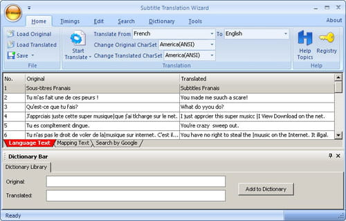 Download the latest version of Subtitle Translation Wizard free in