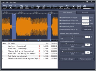Download the latest version of X-Wave MP3 Cutter Joiner free