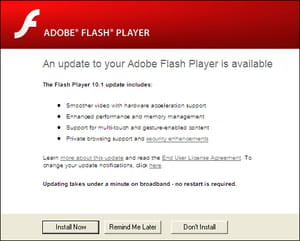 Related. Adobe flash ...