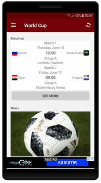 Download the latest version of World Cup Russia 2018 free in English