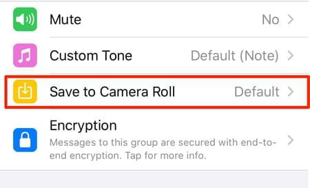 iOS WhatsApp screenshot