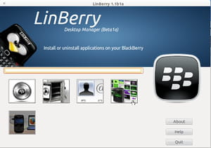 Download the latest version of LinBerry for Ubuntu free in English