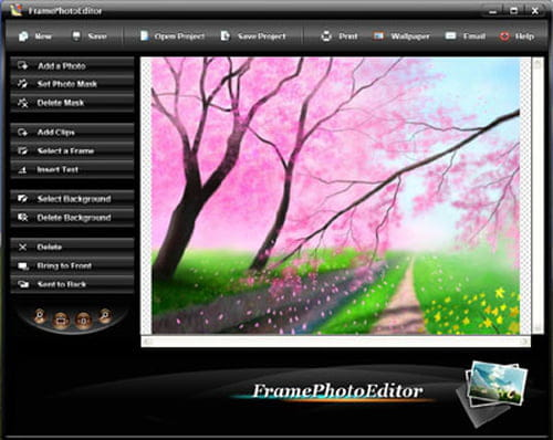 photo editing software with frames free download