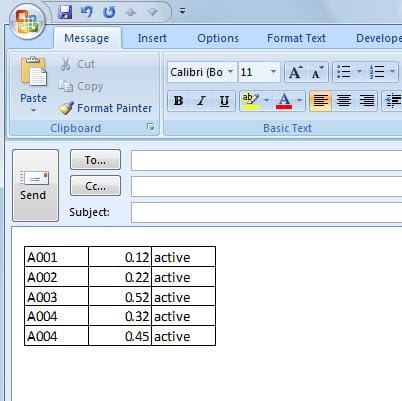 Take Screenshots of Data on Microsoft Excel