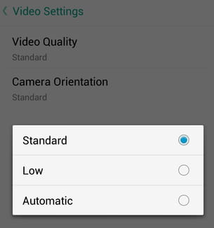 Set the Default Video Quality on Snapchat