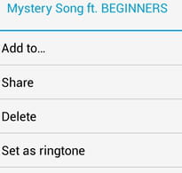 Use an Android Song as a Ringtone