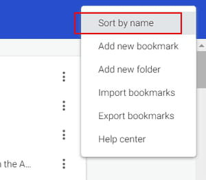 how to search your bookmarks in chrome