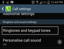 Android - Enable/disable the dialing keypad tone