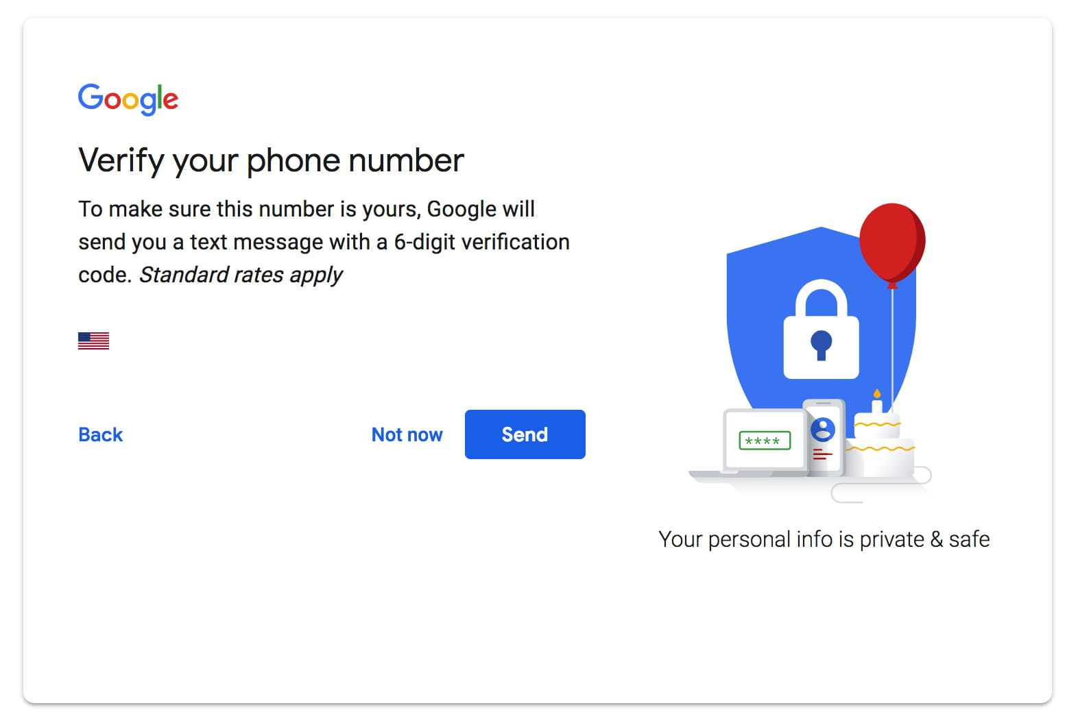 how to create gmail account with phone