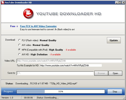 Download the latest version of YouTube Downloader HD free in
