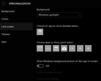 Disable Windows 10 Sign In Screen Wallpaper