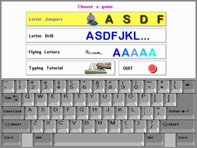 download the latest version of animated beginning typing free in